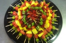 Brochettes de fruits