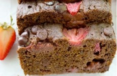 http://wholeandheavenlyoven.com/2015/06/01/double-chocolate-strawberry-banana-bread/
